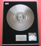 BRYAN FERRY - Another Time PLATINUM LP PRESENTATION Disc